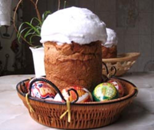 Пасхальный кулич. Фото сайта www.vasabi.my1.ru